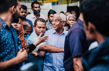 A Small Spark of Hope for Democracy in the Indian Ocean